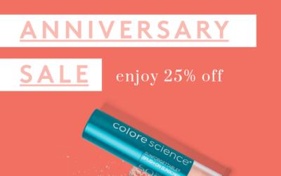 Colorescience Anniversary Sale – March 24th-30th!