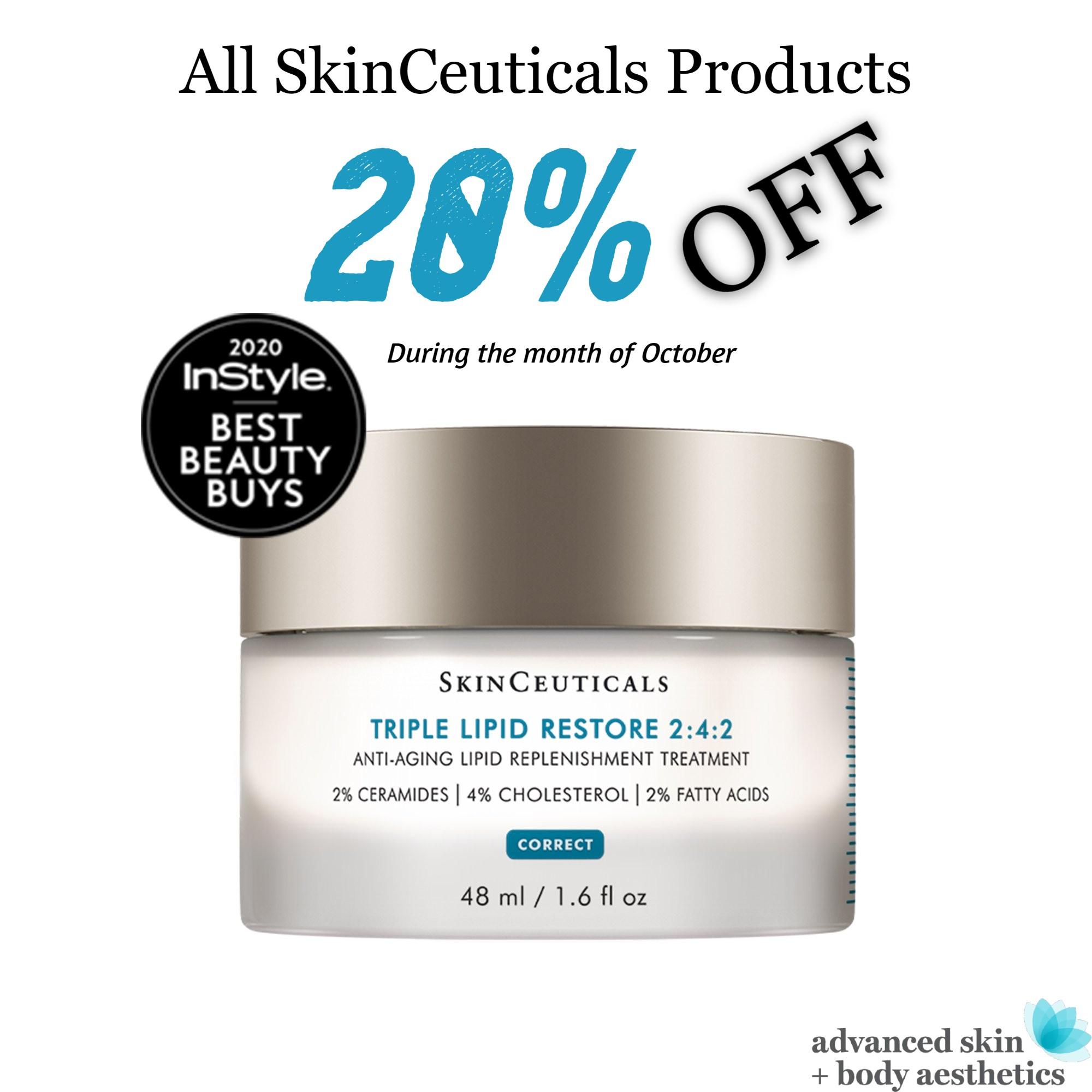 Skinceuticals 20 Percent Off