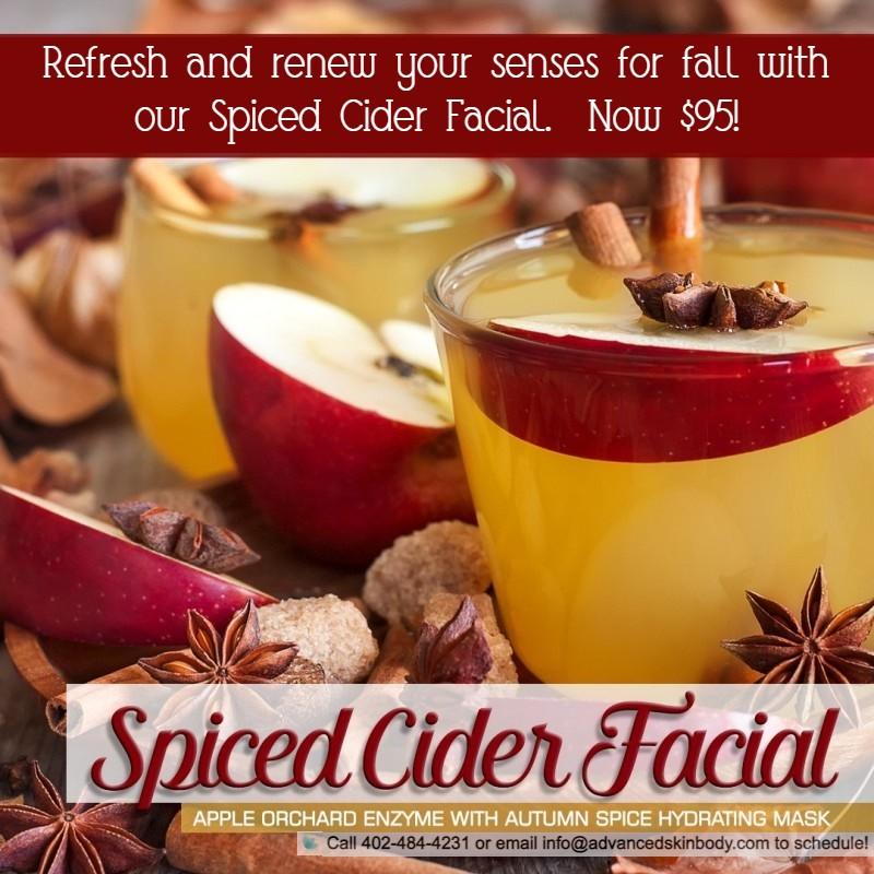 Spiced Cider Facial